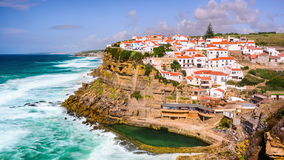 Azenhas Do Mar, Portugal stock video