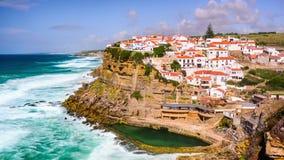 Azenhas Do Mar, Portugal stock video