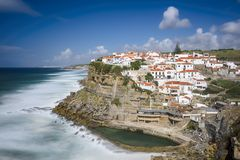 Azenhas Do Mar, Portugal Stock Photos