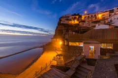 Azenhas do Mar - Portugal. Travel background royalty free stock image