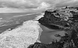 Azenhas do Mar, Sintra, Portugal Stock Photos