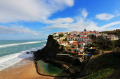 Azenhas do Mar, Sintra, Portugal Royalty Free Stock Photography
