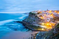 Azenhas do Mar village Sintra Portugal Stock Photos
