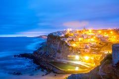 Azenhas do Mar village Sintra Portugal Royalty Free Stock Photography