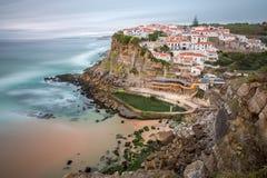 Azenhas do Mar village Sintra Portugal Royalty Free Stock Image