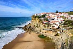 Azenhas endommagent, le Portugal Images stock