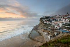 Azenhas guasta il villaggio turistico di Sintra Fotografia Stock Libera da Diritti