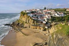 Azenhas Mąci wioskę, Sintra, Lisbon, Portugalia Zdjęcie Royalty Free