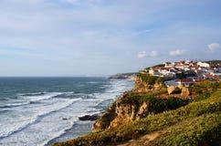 Azenhas Mąci wioskę, Sintra, Lisbon, Portugalia Zdjęcia Royalty Free