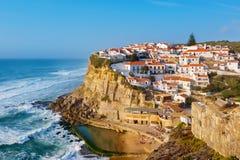 Azenhas Mąci miasteczko Portugalia Fotografia Stock