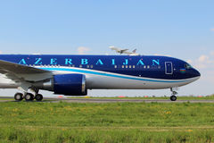 Azerbaijan Airlines Stockbild