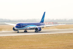 Azerbaijan Airlines Images stock