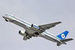 Azerbaijan Airlines Boeing 757 Royalty Free Stock Image