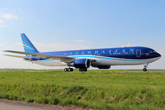 Azerbaijan Airlines Royalty Free Stock Photos