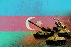 Azerbaijan army, military forces Stock Photography
