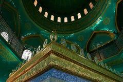 Azerbaijan, Baku - 22 de marzo de 2017, mezquita de Bibiheybat en la república islámica, Baku, Azerbaijan Foto de archivo