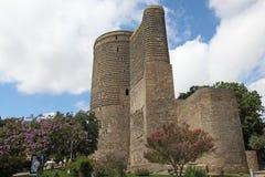 azerbaijan baku Erstturm Stockbilder