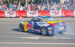 AZERBAIJAN, BAKU - JUNE 17: Ukrainian Drift Champion Alex Grinch Stock Image