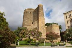 azerbaijan baku Torre nova Imagem de Stock