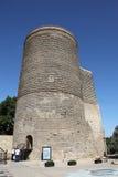 azerbaijan baku Torre nova Foto de Stock Royalty Free