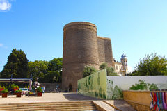 azerbaijan baku Torre nova Foto de Stock