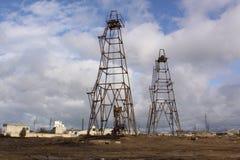 azerbaijan baku Unser Industrie-Erdöl Lizenzfreie Stockfotografie
