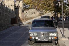 Azerbaijan. Baku. Veiw of city streets. Old City Royalty Free Stock Photo