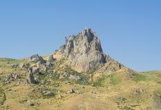Azerbaijan. beshbarmaq. Five fingers mountain. Landscape of the area of Azerbaijan Royalty Free Stock Photography