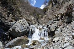 Azerbaijan. Caucasus mountains. Village Durdzha. It located near the city of Gabala. Gabala is the most ancient city of Azerbaijan and the capital of the Qabala Royalty Free Stock Photo