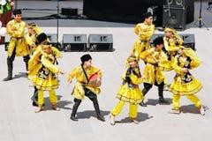 Azerbaijan dansgroep Royalty-vrije Stock Afbeelding