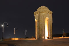 Azerbaijan. The Eternal Flame Memorial in Baku Stock Photo
