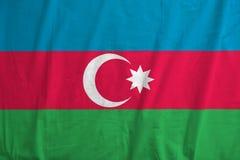 azerbaijan flagę Obrazy Stock