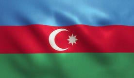 Azerbaijan Flag Royalty Free Stock Images