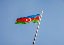 Azerbaijan flag Royalty Free Stock Photography