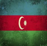 azerbaijan flaggagrunge vektor illustrationer