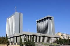 Azerbaijan het Parlement Stock Afbeeldingen