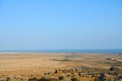 Azerbaijan landscape Stock Photo
