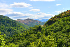 Azerbaijan nature. Azerbaijan Nagorno near Masalli city Royalty Free Stock Photos