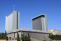 Azerbaijan-Parlament Stockbilder
