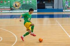 Azerbaijan player attack Royalty Free Stock Photos