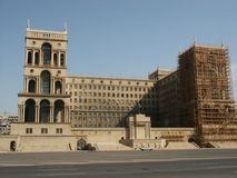 azerbaijan regeringhus Arkivbilder