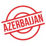 Azerbaijan rubber stamp Stock Images
