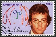 AZERBAIJAN - 1995: shows John Winston Ono Lennon (1940-1980) Stock Photography