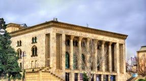 Azerbaijan State Drama Theatre in Baku Royalty Free Stock Image