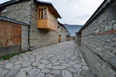 Azerbaijan Lahic mountain village. royalty free stock photos