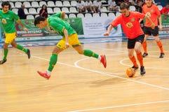Azerbaijan team (G) and MGKFS team (O) Royalty Free Stock Image