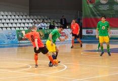 Azerbaijan team (G) versus MGKFS team (O) Stock Image