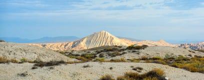Azerbaijan Mud Volcanoes stock photo