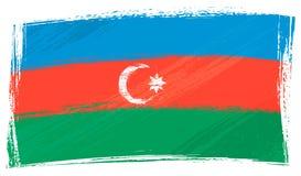 Azerbaijan van Grunge vlag vector illustratie