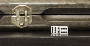 Azerbaijani backgammon Stock Photo